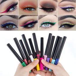 12 Color Matte Not Blooming Makeup Eyeliner Waterproof Liqui
