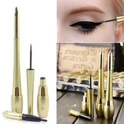 1PC Black Waterproof Lasting Eyeliner Liquid+Eye Liner Penci