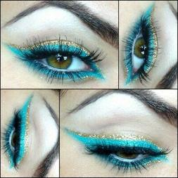 3 Lot NYX  turquoise blue Retractable eye liner water proof