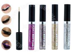 4 Color Glitter Liner Eye Shimmer Metallic Sparkling Liquid