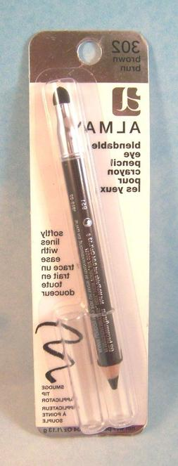 Almay Blendable Eye Liner / Pencil with Smudge Tip Sealed NI