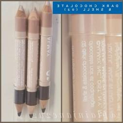 TWO Almay Bright Eyes Liner/Highlighter Duo - DARK CHOCOLATE