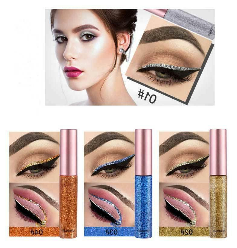 10 Eyeshadow Liquid Eyeliner
