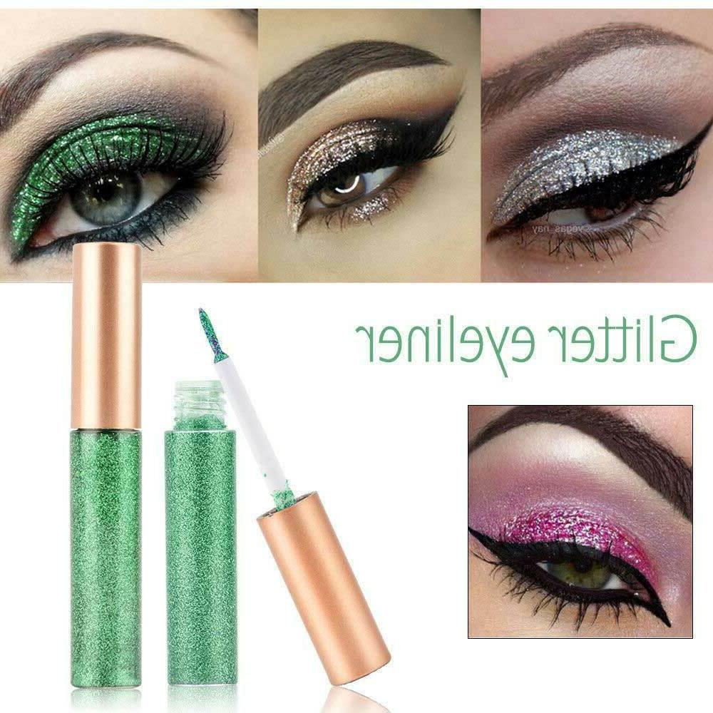 10 Colors Eyeshadow Eyeliner Shimmer