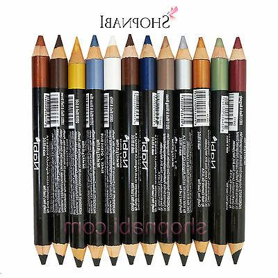 12pcs double sided eye liner and shadow