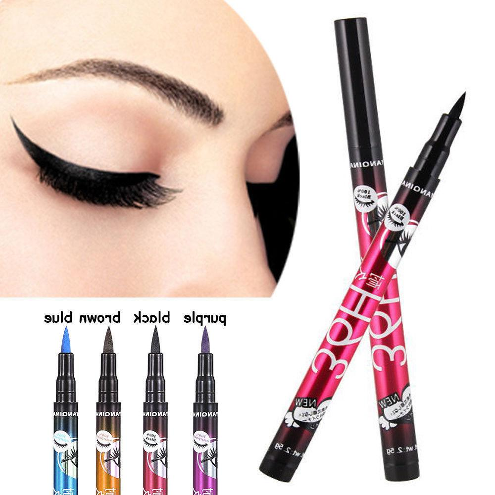 36H Waterproof Liquid Eye Liner Tip Pen SELECT