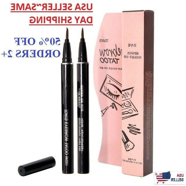 7 days eyebrow tattoo pen pencil liner
