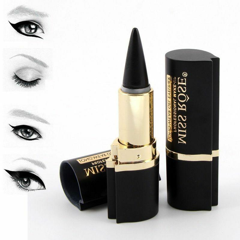 Miss Rose Lady Eyeliner Long Lasting Black Waterproof Eyelin