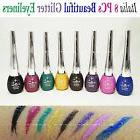 Italia Deluxe Dazzling Eyeliners- Full Set of 8 Colors *Glit