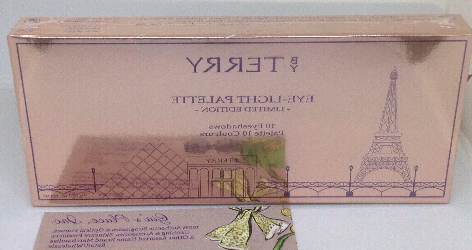 BY EYE-LIGHT PALETTE LIMITED EDITION TERRYBLY 10 SEALED!