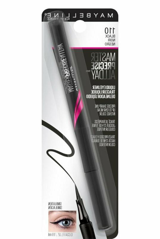 Maybelline Eyestudio All Day Eyeliner Makeup, Black,