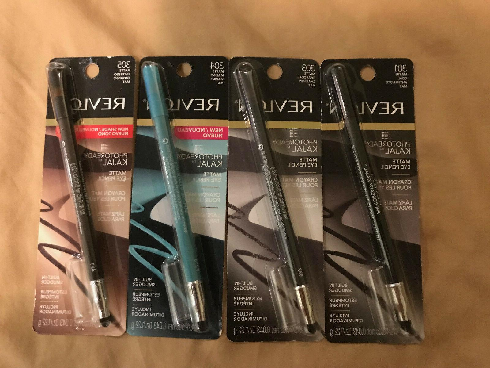 Revlon Photoready Kajal Matte Eye Liner Pencil CHOOSE YOUR S
