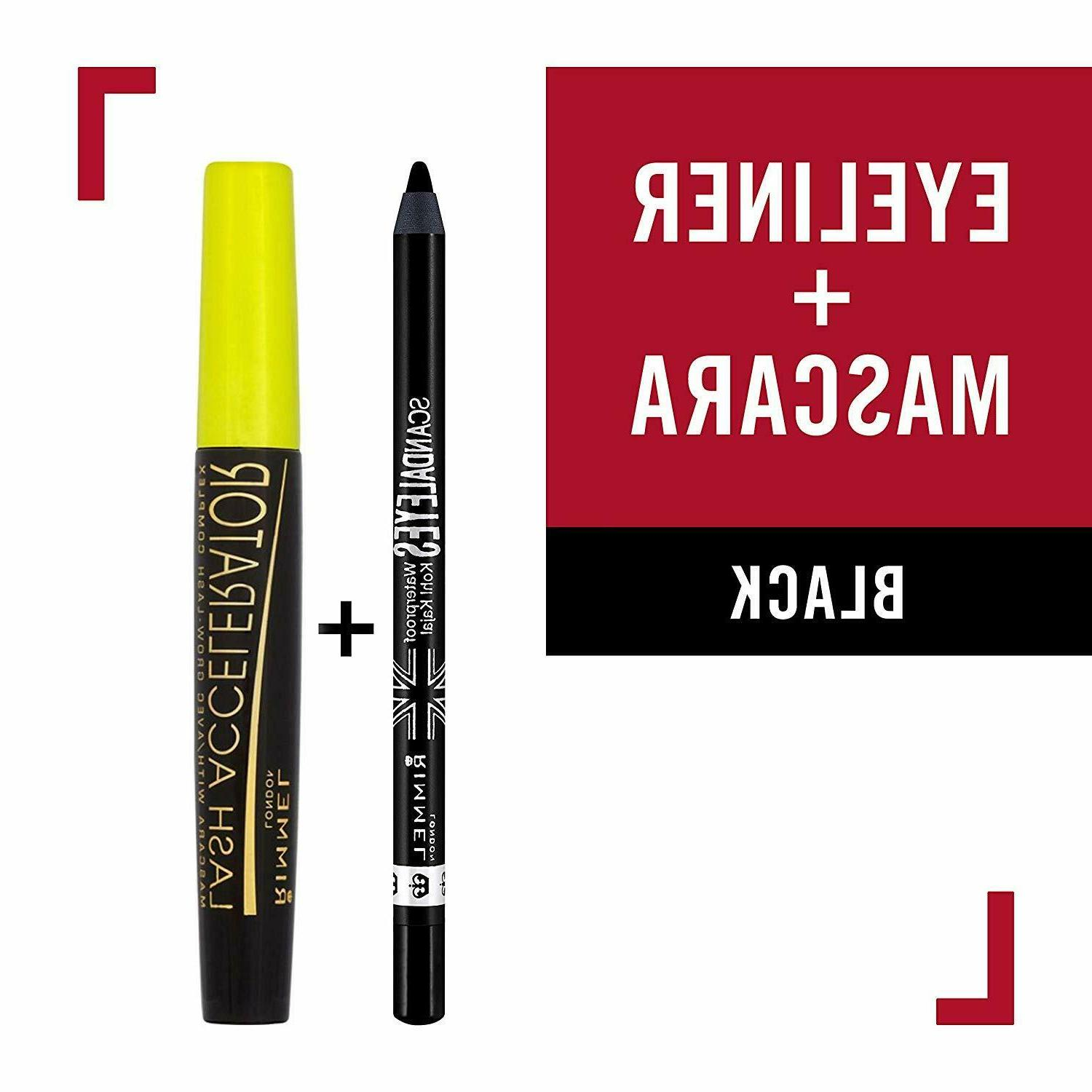 Rimmel Scandaleyes Waterproof Kohl Kajal Liner, Black, Fluid