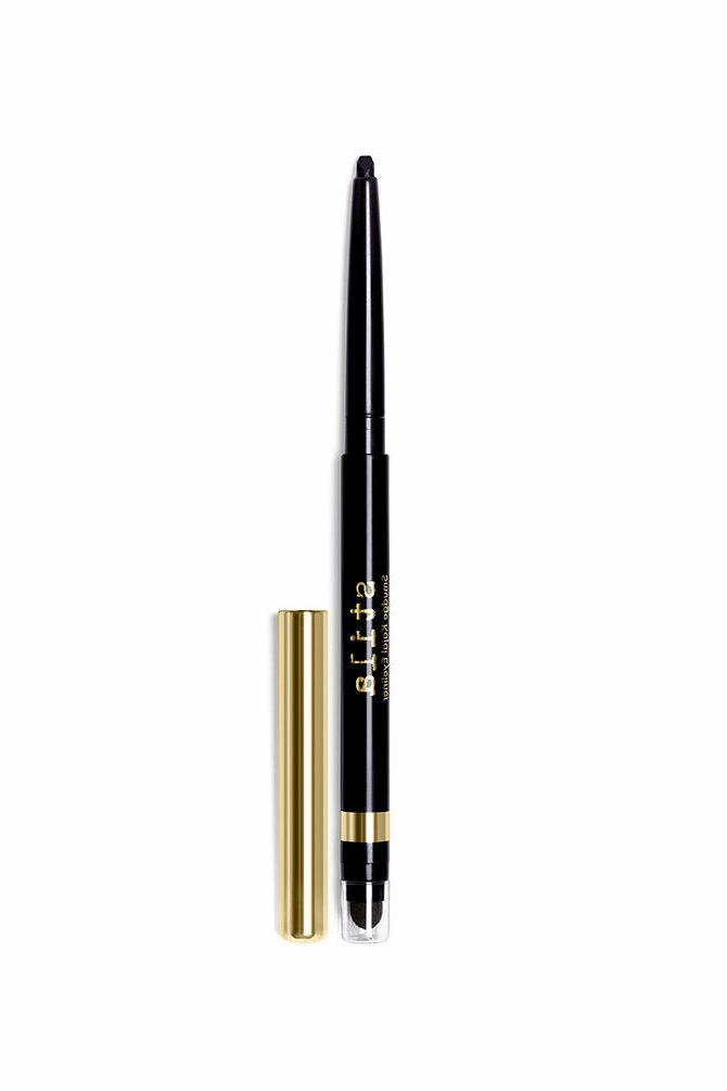 smudge kajal eye liner intense black