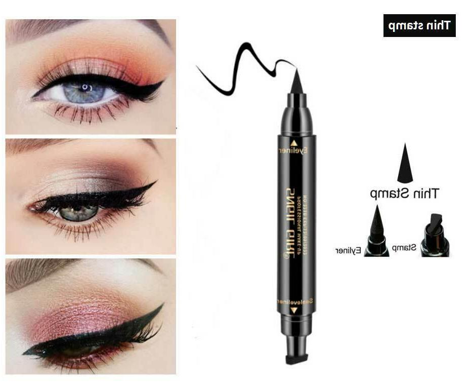 Winged Eyeliner Long Liquid Pen Eye Kit