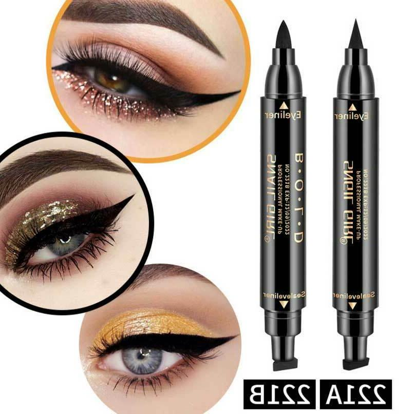 Winged Eyeliner Stamp Long Eyeliner Pen Kit