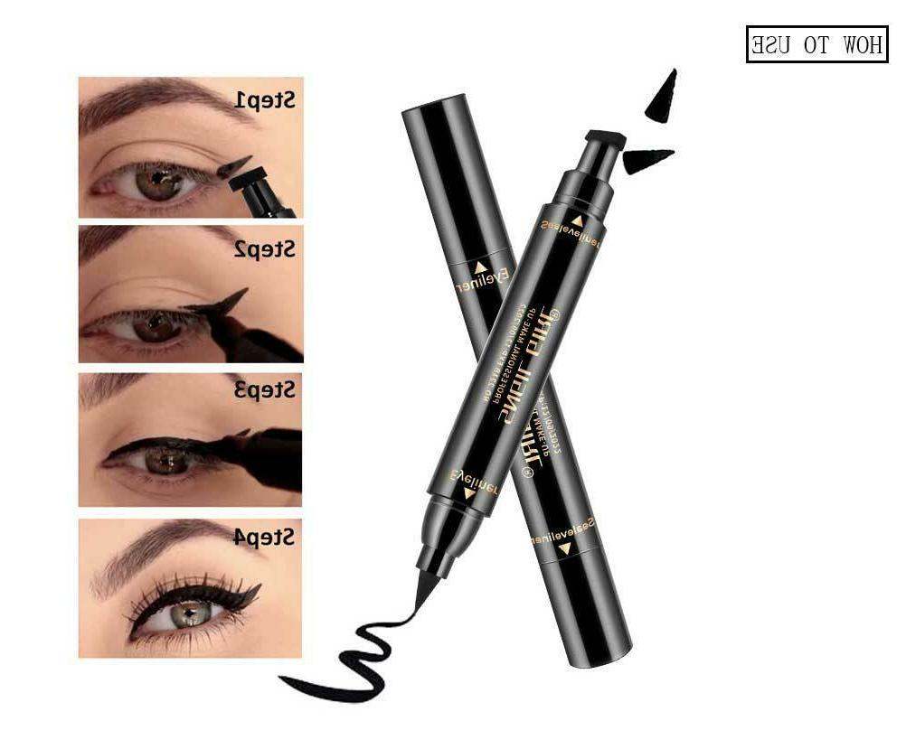 Winged Eyeliner Stamp Long Liquid Pen Eye Kit