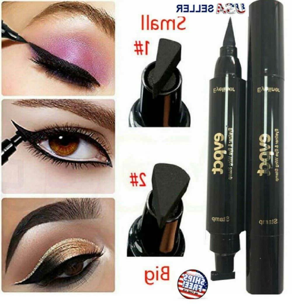 winged eyeliner stamp waterproof long lasting liquid