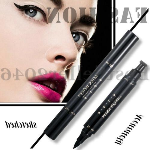 Winged Eyeliner Stamp Waterproof Long Liquid Pen