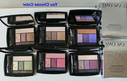 LANCOME Color Design Eye Brightening 5 Shadow & Liner Palett