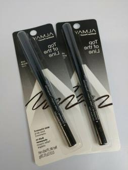 Almay lot of 2 Top of the Line Eye Liner Pencil 205 BLACK .0