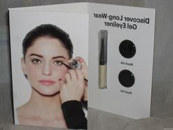 NEW BOBBI BROWN DISCOVER LONG-WEAR GEL EYE LINER BLACK + STE