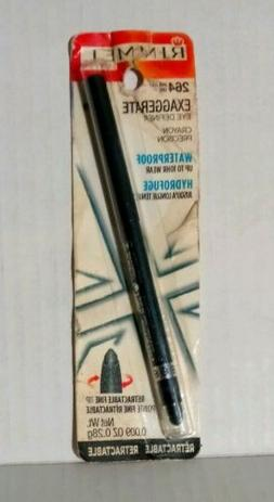 NEW Rimmel London Exaggerate Waterproof Eye Liner Earl Grey