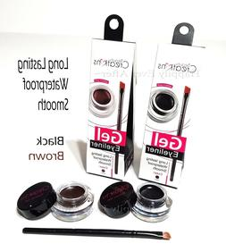 Waterproof Gel Eyeliner Beauty Creations Black/ Brown Gel Ey