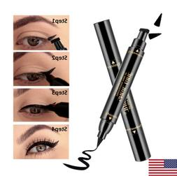 wing eyeliner stamp waterproof long lasting pen