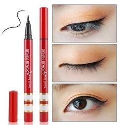 winged wing eyeliner stamp black thin thick